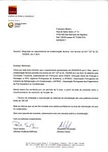 Certificado de TIM II: Técnico de Instalação e Manutenção de Sistemas de Climatização com P<100 kW